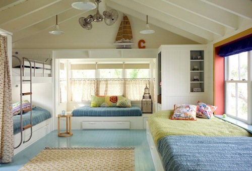 guest bedroom summer