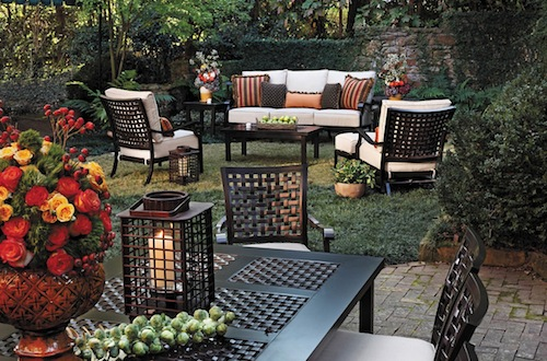 outdoor furniture entertaining ideas